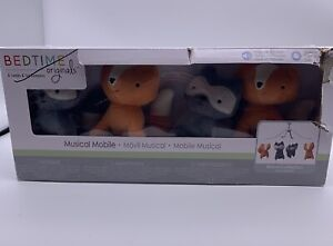 Bedtime Originals Musical Mobile Acorn Collection Fox Raccoon NEW In Box