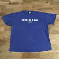 Vintage 90's Herring Cove Beach Massachusetts T-Shirt 2XL Oneita Single Stitch