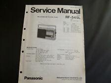 Original Service Manual Panasonic RF-545L