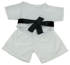 Karate Outfit With Belt Teddy Bear Clothes Fit 8 inch to 10 inch Build-a-bear an