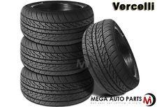 4 X New Vercelli Strada II 275/35R20 102W XL All Season Performance Tires