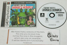 USED Army Men: Sarge's Heroes Sony Playstation 1 PS1/PSX (NTSC)