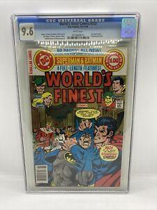 Worlds Finest Comics #253 (1978) CGC 9.6 NM+ WP. DC Bronze Age Superman Batman
