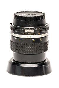 Nikon Ai-S NIKKOR 85mm F2 Prime MF Lens used