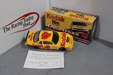 2000 Ernie Irvan 1991 Kodak Lumina 1/24 Action RCCA CWB Diecast Autographed