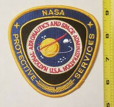 NASA Protective Service - Security - Shoulder Patch. Highly Collectible.