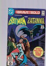 DC Comics the Brave and The Bold #169 Dec 1980 Batman & Zantanna