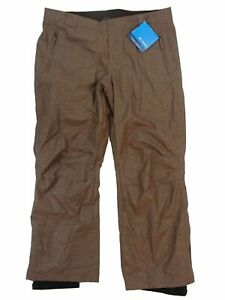 Columbia Women's Galaxy Groove Waterproof/Breathable Snow Pant-Brown-XL