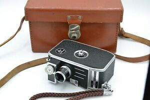 Bolex Palliard C8SL with Vvar 13mm lens in case