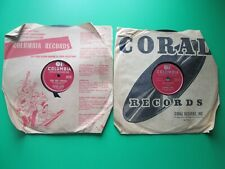 78 RPM Vinyl Record, Rosemary Clooney, Lot of 2, Columbia