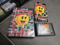Ms. Pac-Man (Sega Genesis, 1991)  Complete in Box - CIB
