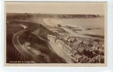 More details for cullen bay & scarnose: banffshire postcard showing gnsr railway (c54921)