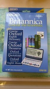 Seiko ER8100 Britannica and Oxford Reference Library. Concise Encyclopedia.
