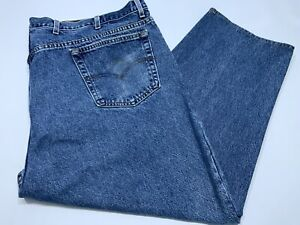 Men's Vtg Levi's 513 Loose Fit Blue Jeans Denim Size 53x25(Tagged 54x30)Made USA