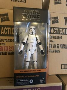 STAR WARS BLACK SERIES: 6 Inch - Mandalorian: Imperial Stormtrooper