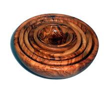 madera de olivo Conjunto cuencos 6er Tazón de Madera Conjunto 6 cuencos