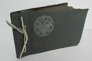 Vintage Postcard Album from Germany circa 1928 with 32 Different Items