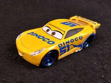 Disney Pixar Cars 3 Dinoco Racer CRUZ RAMIREZ 1/55 Diecast Loose No Box