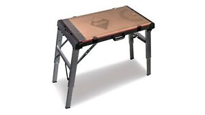 Rubi Folding Work Table - 4-in-1 Work Bench, Scaffolding, Barrow & Stretcher