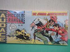 Collana AUDACE il Piccolo Ranger Striscia Fumetto  Anastatica  2°serie N 15 CU