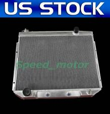 "1957 1958 1959 Ford Cars 3 Row Advanced Radiator w// 2 12/"" fans V8 Eng # CC5759"