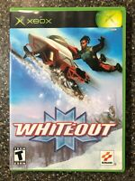 Whiteout (Microsoft Xbox) Complete w/ Manual - Tested Working - Free Shipping