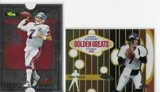 2005 Topps Chrome Golden Greats John Elway & 1995 Proline Pro Bowl