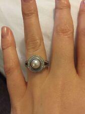 Platinum Fine Pearl Rings