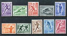 Somalia 221-7, C54-6, MNH Sport Runner Bicyclist, Basketball Player 1958 x27922