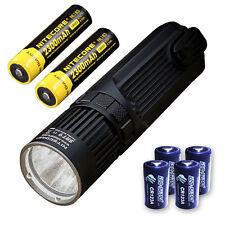 Nitecore SRT9 Flashlight -2150 Lumens w/2x NL183 & 4x CR123A Batteries