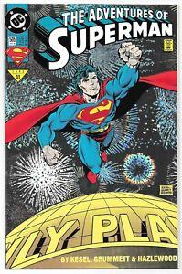 The Adventures of Superman #505 (10/1993) DC Comics Holo Foil Cover