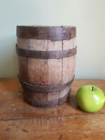 Antique Primitive French Wooden Barrel