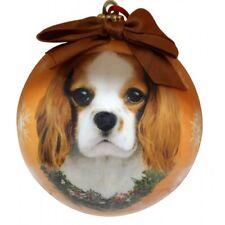 King Charles Cavalier Dog Pet Christmas holiday ball Ornament Love your dog