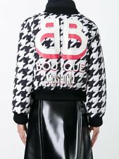 Moschino Houndstooth Down Jacket