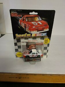 Racing Champions Die Cast Stock Car & Collector Card #21 Dale Jarrett 1991 - New