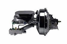 "1964-72 GM Power Brake Booster Kit 9"" Chrome AFX Body Side Disc/Disc NEW"
