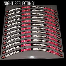 NSR 125 RR reflectante rueda llanta de Gráficos Pegatinas Calcomanías HRC X 12 piezas