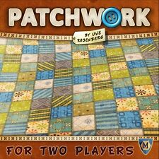 Patchwork 2 Player Board Game Mayfair Games Uwe Rosenberg MFG 3505