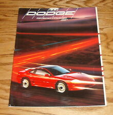 Original 1991 Dodge Performance Sales Brochure 91 Stealth Spirit Shadow Daytona
