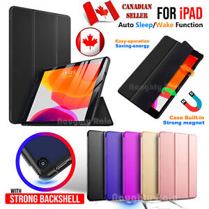 iPad Case Cover Leather Shockproof Slim Magnetic Stand Case For iPad ALL MODELS
