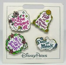 Disney Trading Pins Themed * THE MERMAID LIFE LOVE * Carded NEW Booster Set of 4