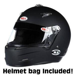 Bell  M-8  Auto Racing Helmet Medium Black  SA2015       NEW