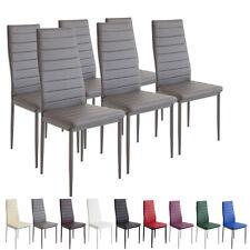 6 X Esszimmerstühle MILANO   Grau   Esszimmerstuhl Küchenstuhl Stuhl Stühle