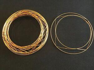 "12"" (30cm) Raised Wreath Ring - Brand New - Pack Of 10 - Christmas"