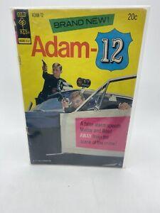 """RARE 1st ISSUE 1973  """" ADAM - 12 """"  ORIGINAL HIGH GRADE  GOLD KEY  COMIC BOOK"""