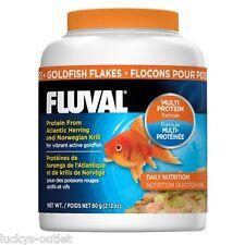 Fluval Goldfish Food Flakes From Atlantic Herring & Norwegian Krill 2.12oz 60g