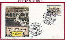 ITALIA FDC FILAGRANO FILATELICA VERSO COLOMBO '92 1989 ANNULLO GENOVA U521