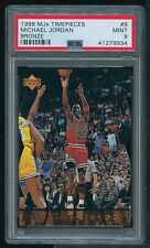 1998 MJx Timepieces Bronze #9 Michael Jordan /230 PSA 9
