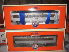 LIONEL PENNSYLVANIA RAILROAD PASSENGER CARS #25139,140,141, 25198, 25199