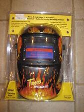 ITEM 617-Tweco Auto Darkening Welding Helmet Flaming Skull Model